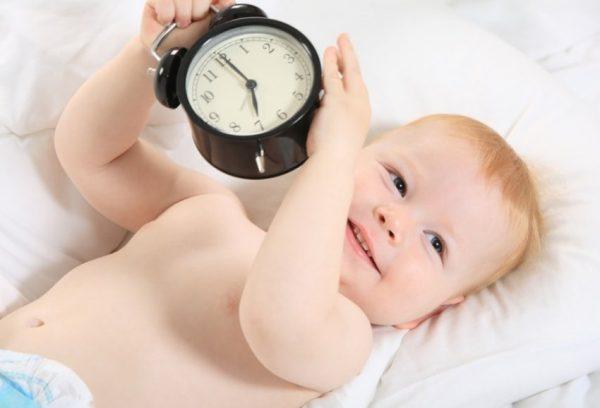 Ребёнок и часы