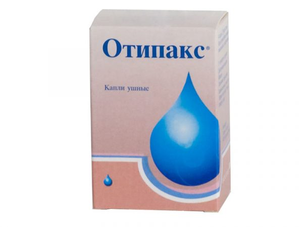 Лекарственный препарат Отипакс