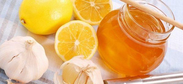 Чеснок с мёдом при фарингите