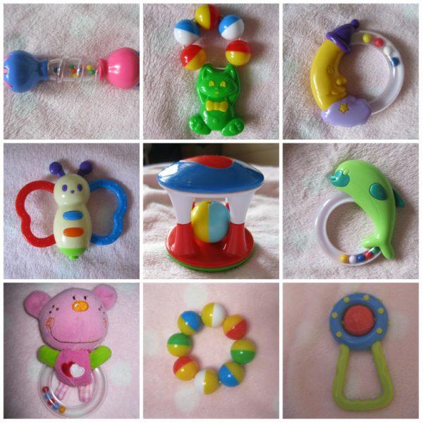 Игрушки для малыша в 5 месяцев