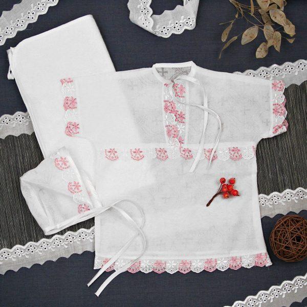 Крестильная одежда для девочки