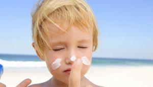 Мазь от солнечных ожогов у детей