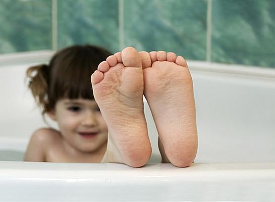 Ножные ванны при ларингите у детей