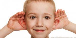 Ребенок слышит