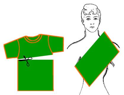 Слинг-карман без шитья