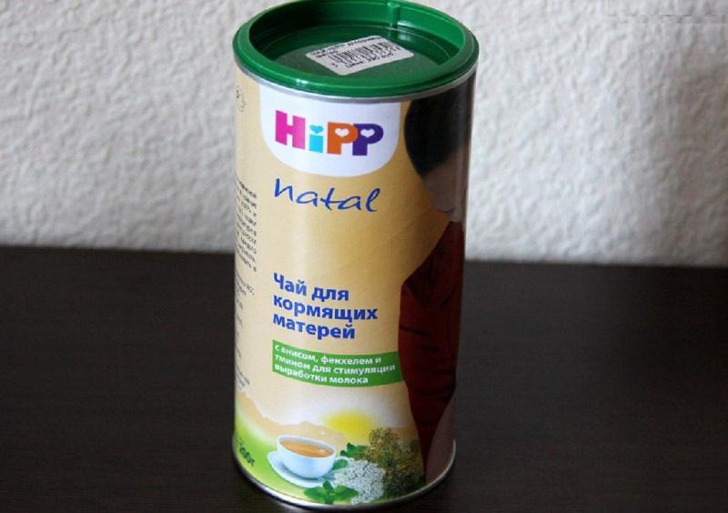 Чай Хипп – вкусный травяной напиток для увеличения лактации