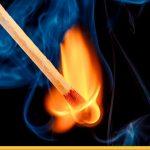 Пламя спички