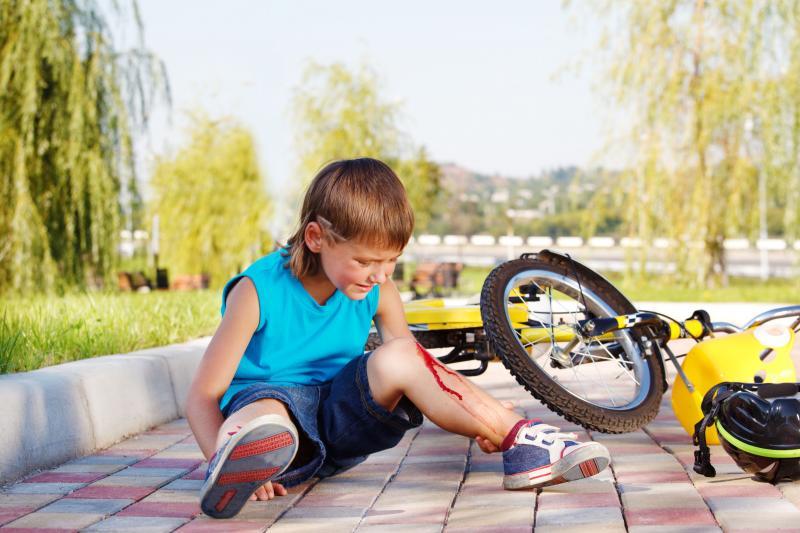 Когда важна первая помощь: детский травматизм