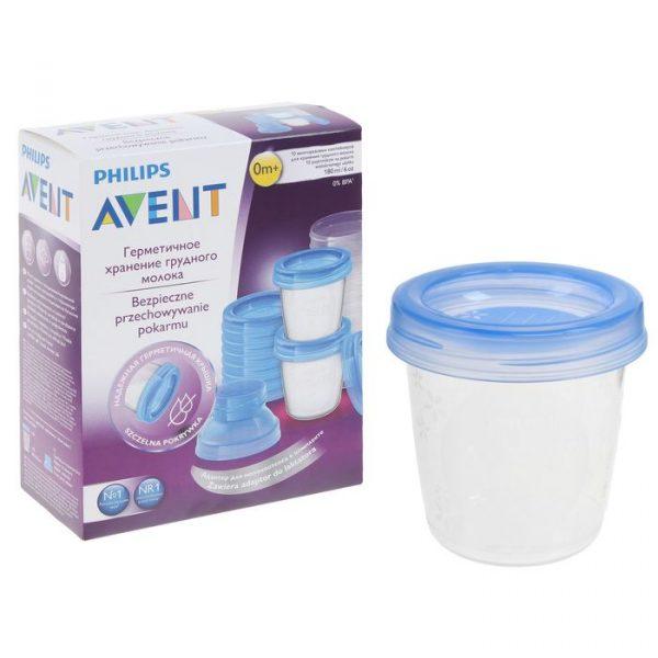Контейнер для хранения грудного молока