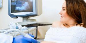 Беременная на УЗИ