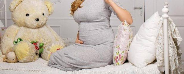 Женщина на 33 неделе беременности