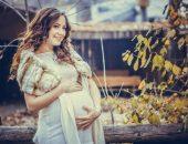 Беременная женщина на 29-й неделе