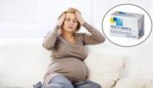 У беременной кружится и болит голова